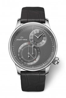Grande Seconde Off-centered Chronograph  gray