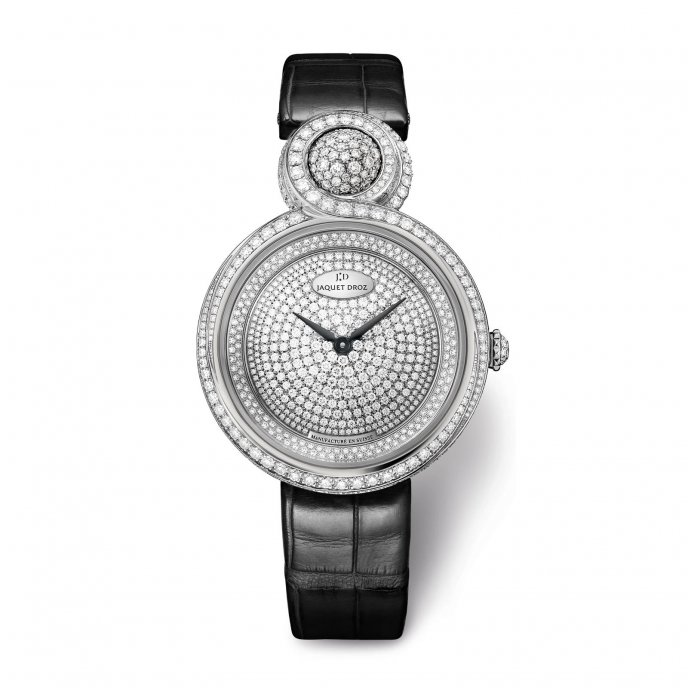 Jaquet Droz Lady 8 Shiny -  watch face view