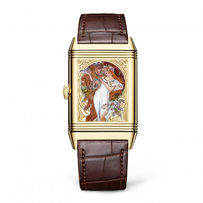 Reverso Tribute Enamel Mucha - Boutique Edition
