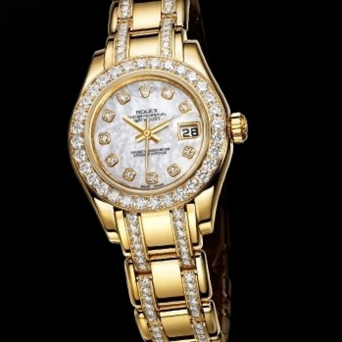 Rolex - Lady-DateJust Pearlmaster