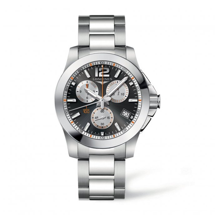 Longines Conquest 1/100th Roland Garros © Longines