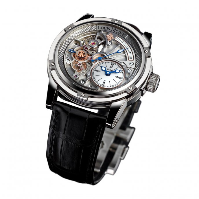 Louis moinet 20 second tempograph 20 second tempograph worldtempus for Louis moinet watch