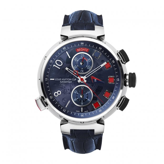 Louis Vuitton - Tambour Spin Time Regate Q102J0 - face view
