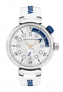 Tambour Street Diver Pacific White