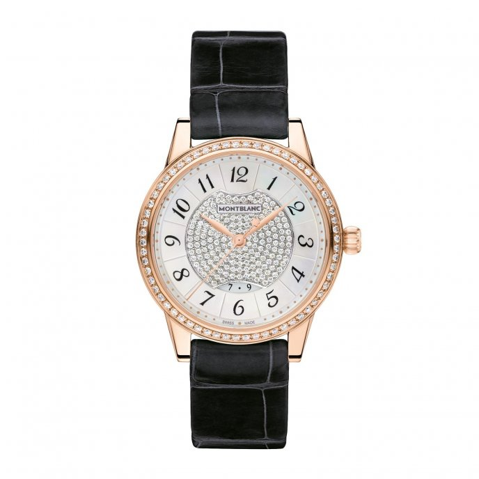 Montblanc Bohème Date Automatic Jewellery 111225 -  watch face view