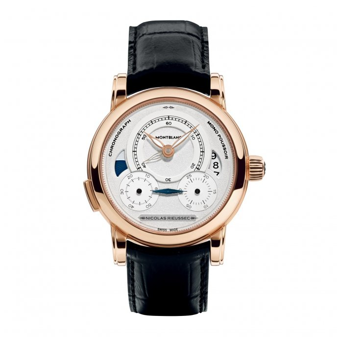 Montblanc Homage to Nicolas Rieussec 111592 - watch face view