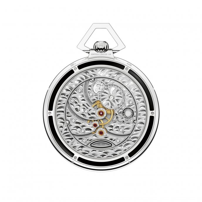 Montblanc Collection Villeret Tourbillon Cylindrique Pocket Watch 110 Years Edition