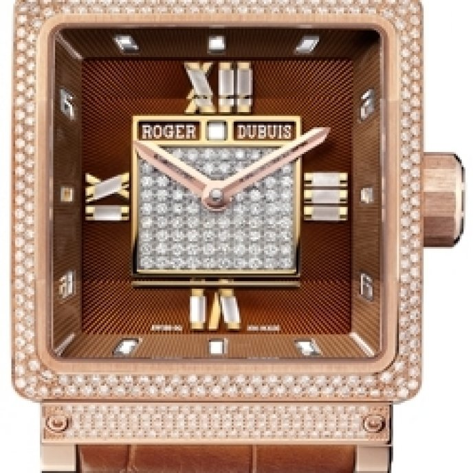 Roger Dubuis - KingSquare Chocolate sertie
