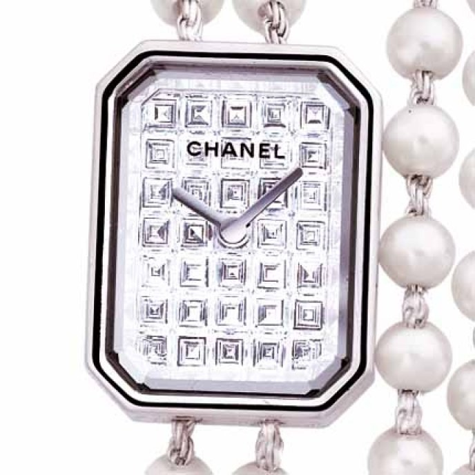 Chanel - Or blanc 18 carats