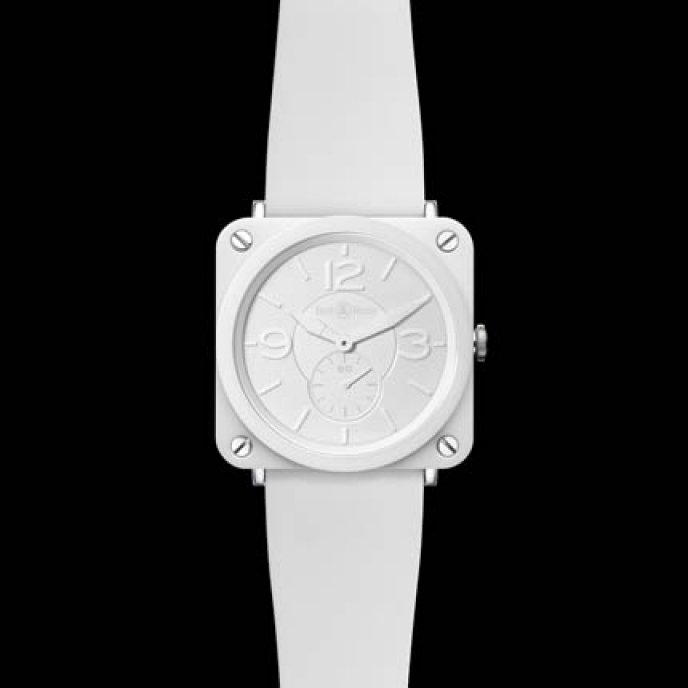Bell & Ross - BR S White Ceramic