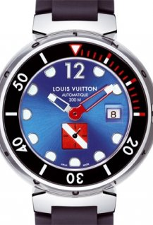 Tambour Diving II, Blue
