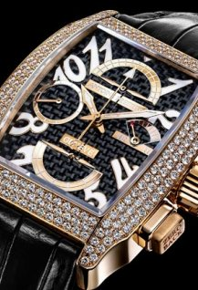 Chrono Grand Robusto gold and diamons