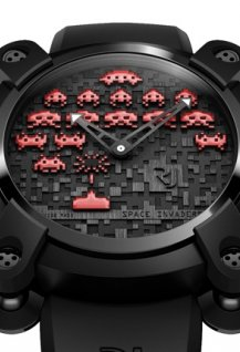 Space Invaders Red