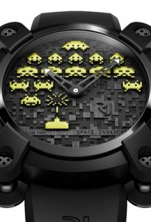 Space Invaders Yellow