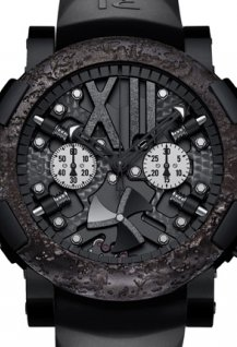 Steampunk Black Chrono