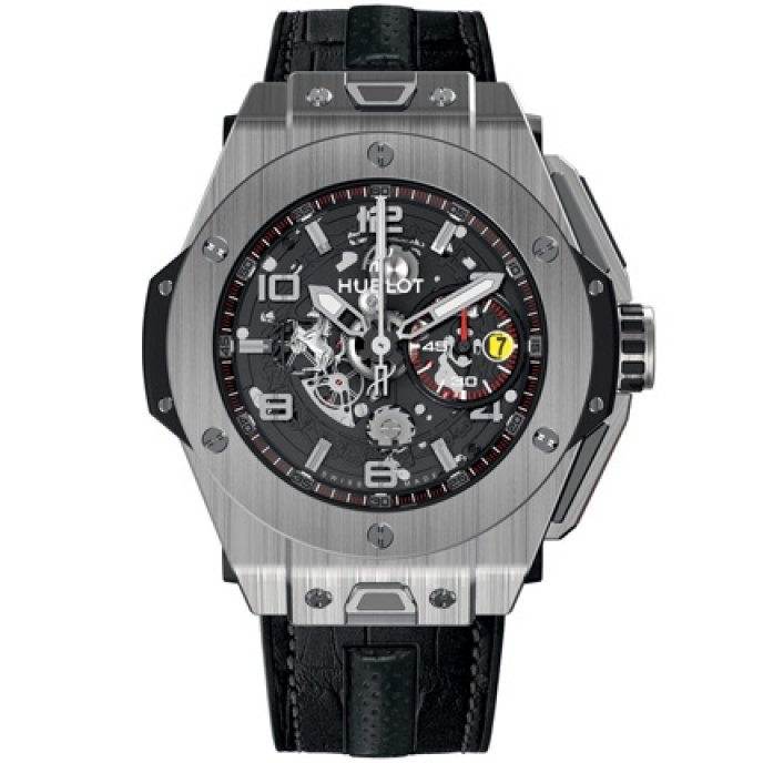 hublot big bang ferrari titane worldtempus. Black Bedroom Furniture Sets. Home Design Ideas