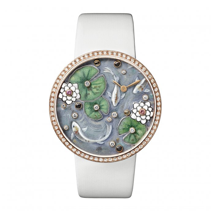Cartier - Les Indomptables de Cartier - Montre Grenouille - face view