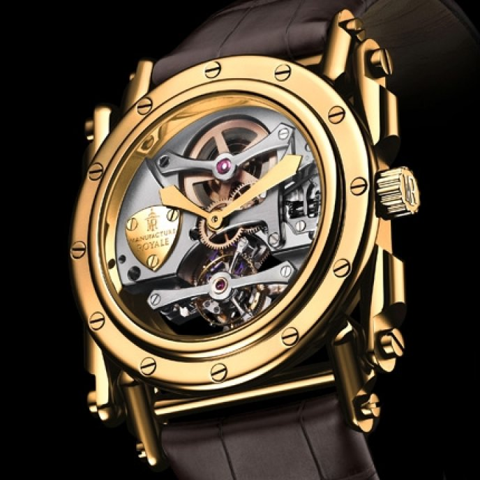 Manufacture Royale - Androgyne Or Jaune