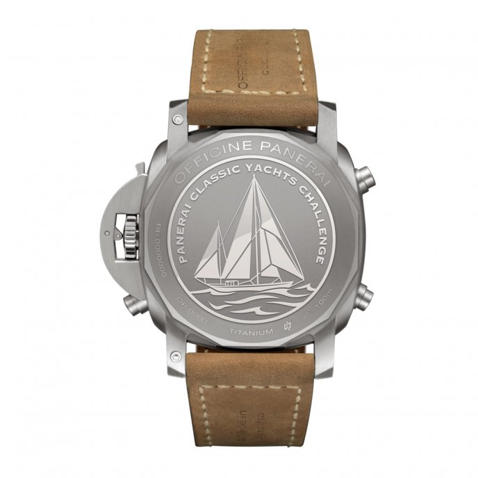 Luminor 1950 PCYC Regatta 3 Days Chrono Flyback Automatic Titanio