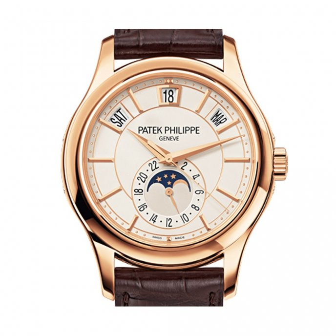 Patek-Philippe-Complications-annual-calendar-5205R-001-or-rose-face-view