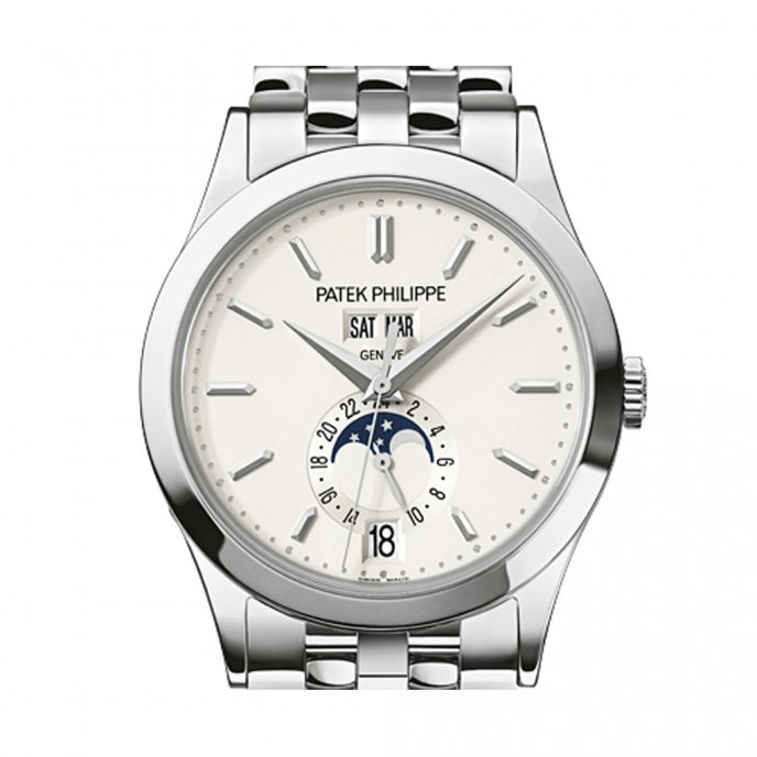 Patek-Philippe-Complications-annual-calendar-53961G-010-or-gris-face-view