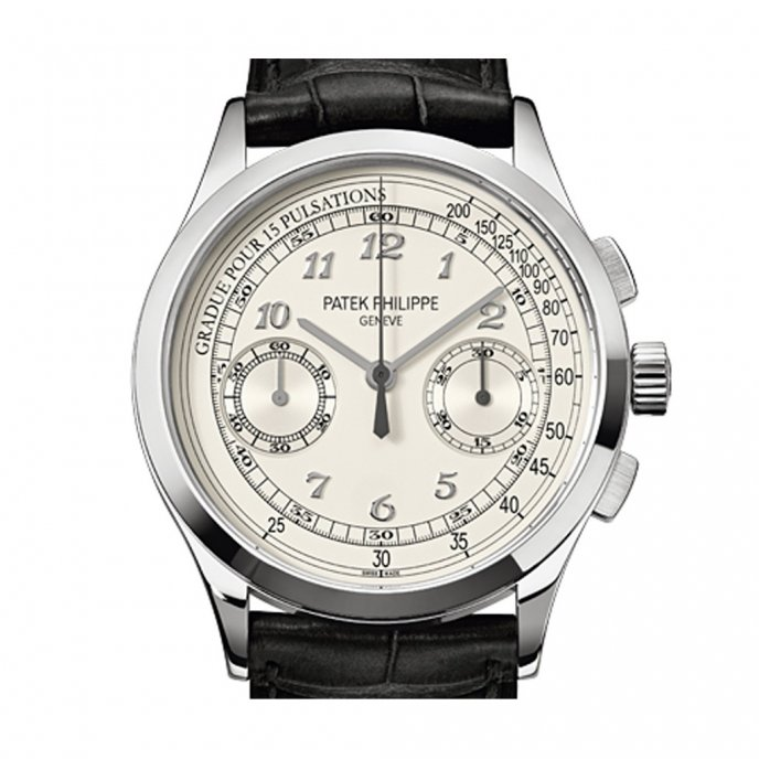 Patek-Philippe-Complications-Chronographe-5170G-001-or-gris-face-view