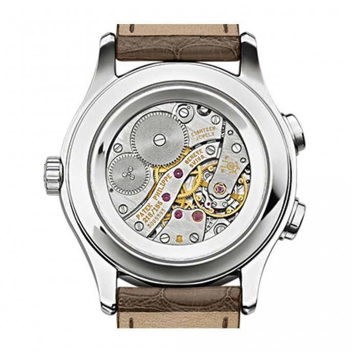 Patek-Philippe-Complications-travel-time-7134G-001-brown-or-gris-back-view