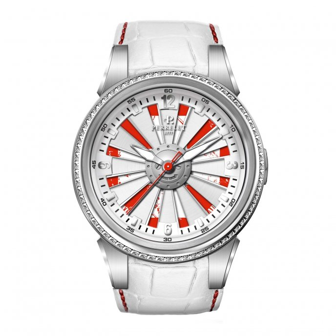 Perrelet Special Edition Turbine Helvetia A4038/1 - face view