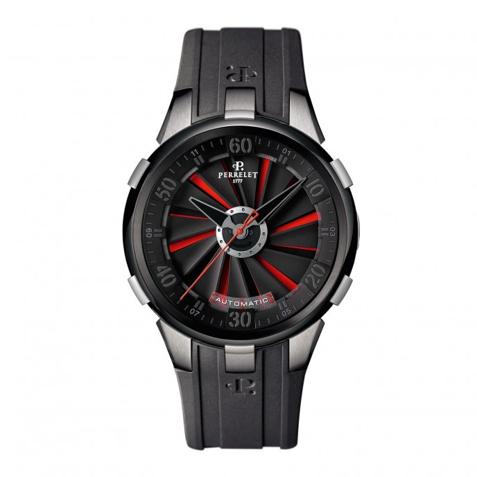 Perrelet Turbine XL Rouge A1050-6-1 Watch-face-view