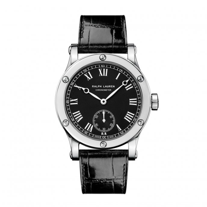 Ralph Lauren Sporting Collection Classic Chronometer ref.RLR0250700 watch face view