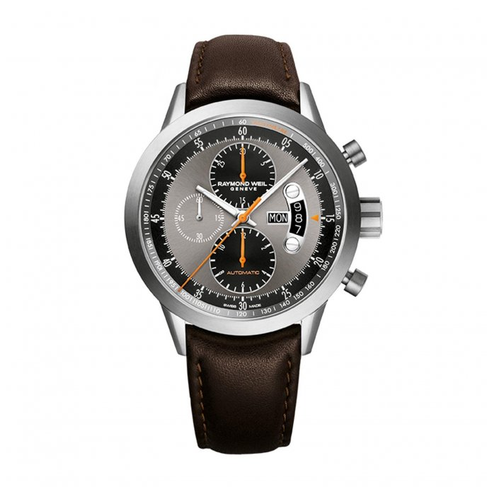 Raymond Weil Freelancer Chrono Watch-face-view