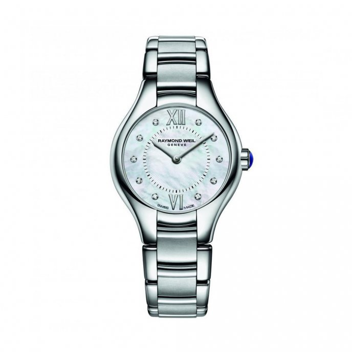 Raymond Weil Noemia 5124-ST-00985 - watch face view