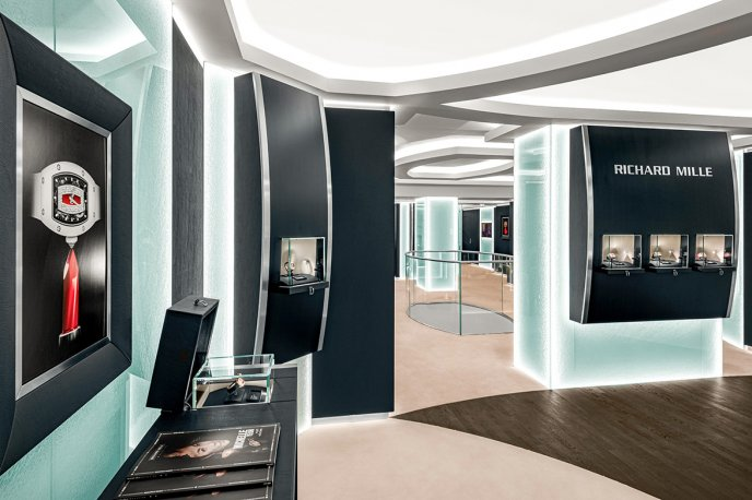 Relocation of the London store