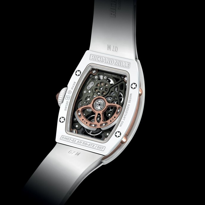 Richard Mille RM 07-01 Ladies - back view