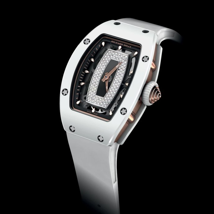 Richard Mille RM 07-01 Ladies - face view