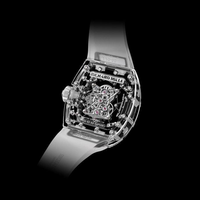 Richard Mille Tourbillon RM 56-02 Saphir Watch-back-view