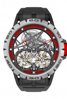 Spider Double Tourbillon Volant Squelette
