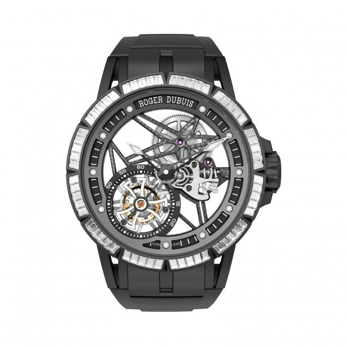 Excalibur Spider Skeleton Flying Tourbillon
