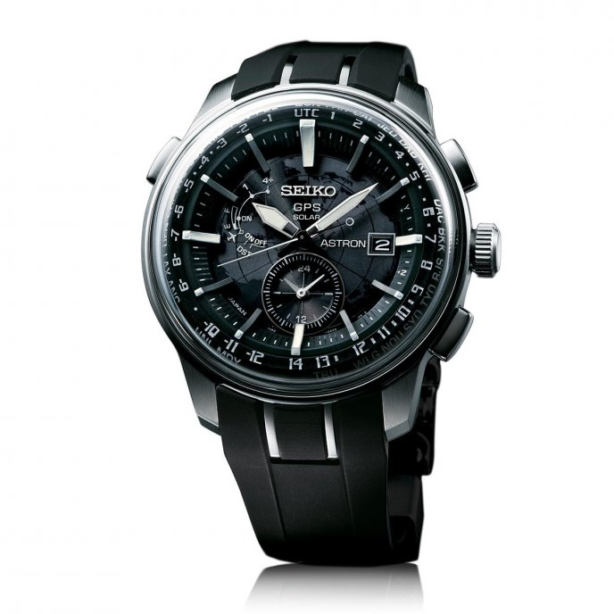 Seiko Astron GPS Solar SAS031 - watch face view