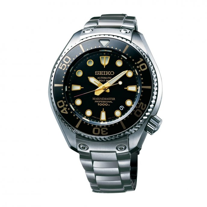 Seiko Prospex Marinemaster Porfessional 1000m Hi-Beat Limited Edition SBEX001 Watch Face View