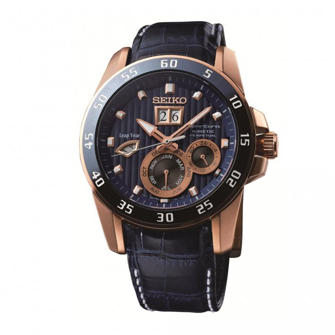 seiko sportura kinetic perpetual 100th anniversary worldtempus. Black Bedroom Furniture Sets. Home Design Ideas