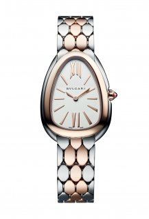 Serpenti Seduttori Steel and Rose Gold 103277