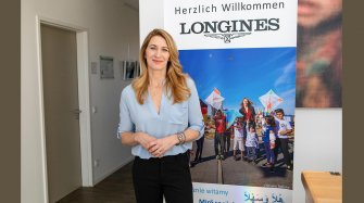 Stefanie Graf welcomes Longines at her foundation Arts and culture