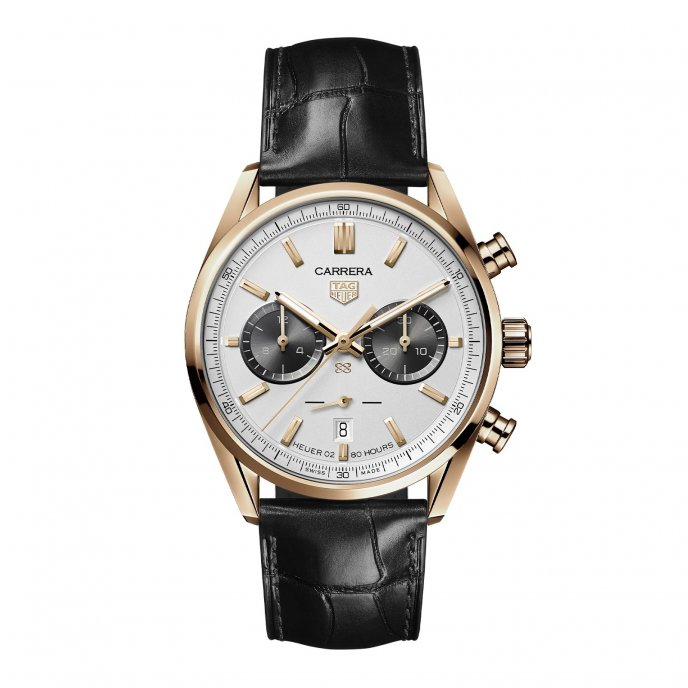 TAG Heuer Carrera (42 mm) Calibre Heuer 02 automatique – Jack Heuer Birthday Gold Limited Edition