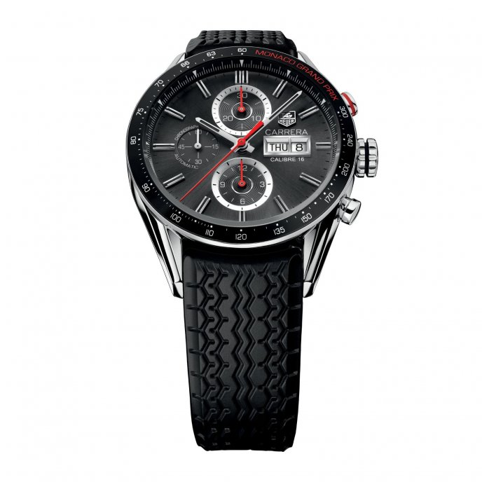 TAG Heuer Carrera Calibre 16 Chronograph Day-Date Monaco Grand Prix  CV2A1M.FT6033 - 1975798e74
