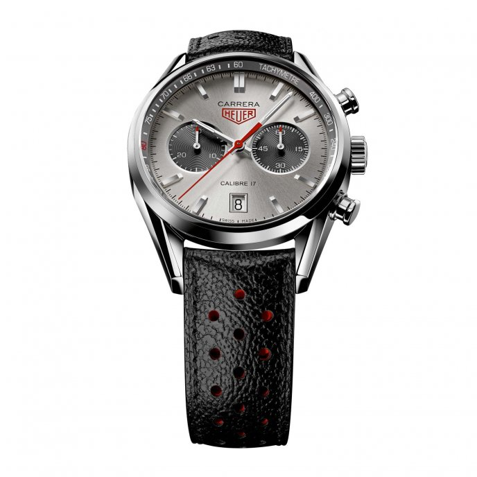Tag Heuer Carrera Calibre 17 Jack Heuer Edition 80 years Chronograph 41mm CV2119.FC6310 - face view