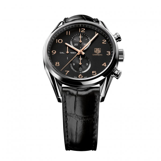 TAG Heuer Carrera Chronographe Calibre 1887 CAR2014.FC6235 - watch face view