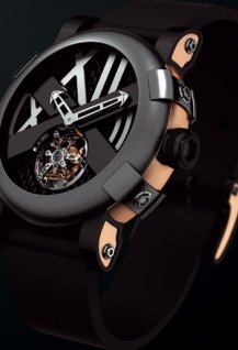 Titanic-DNA five black II tourbillon