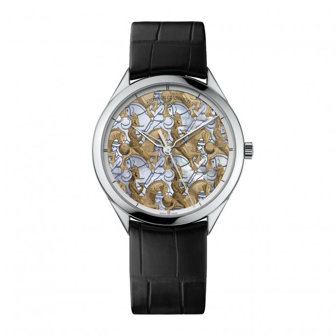 Vacheron Constantin Métiers d'Art Les Univers Infinis Horseman Watch 86222/000G-9833 - face view