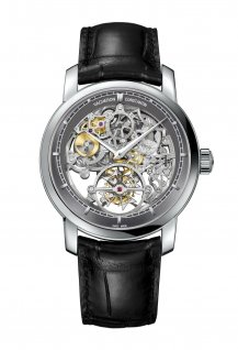 Traditionnelle 14-day tourbillon openworked